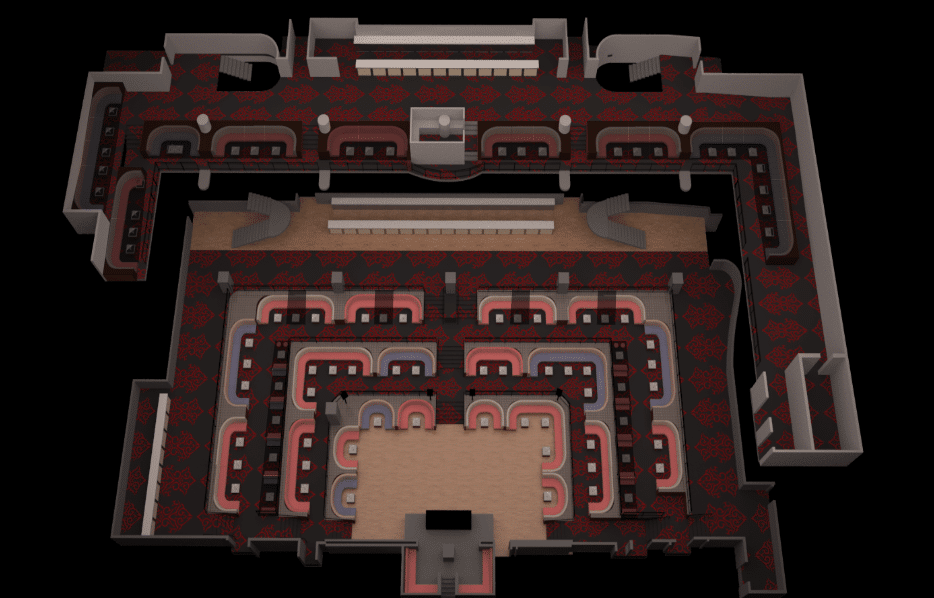 Light Nightclub floor plan