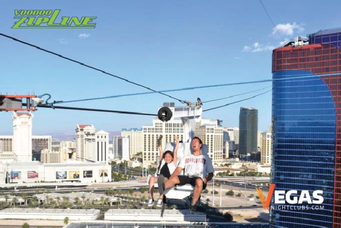 VooDoo Zip Line at Rio Las Vegas