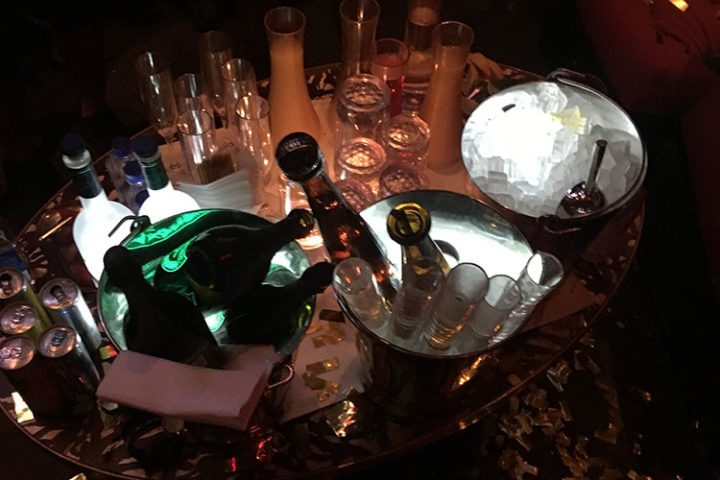 Las Vegas Nightclub Table Service