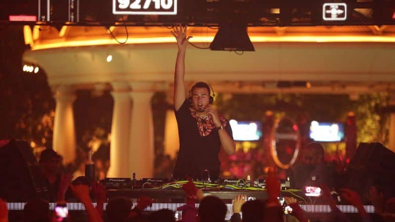 Wynn Nightlife Announces Afrojack Residency for 2018
