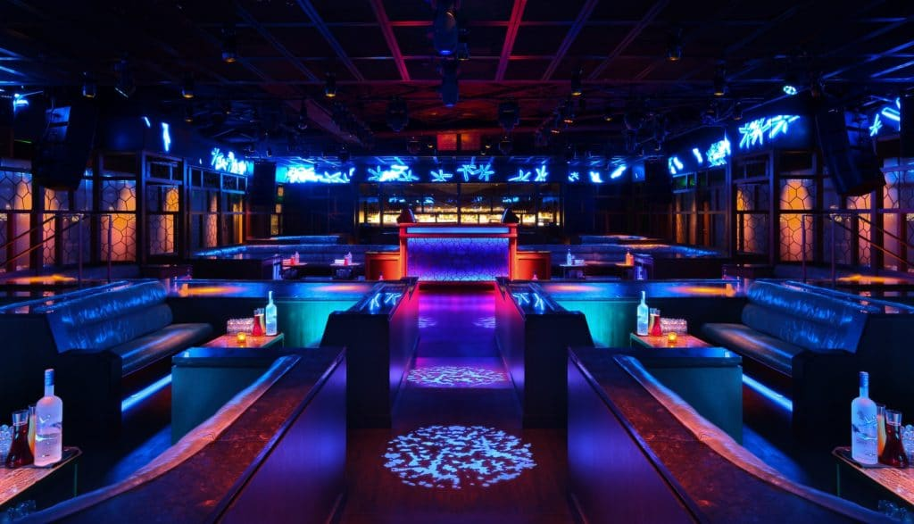 hip hop clubs in vegas Ling Ling Club at Hakkasan Nightclub