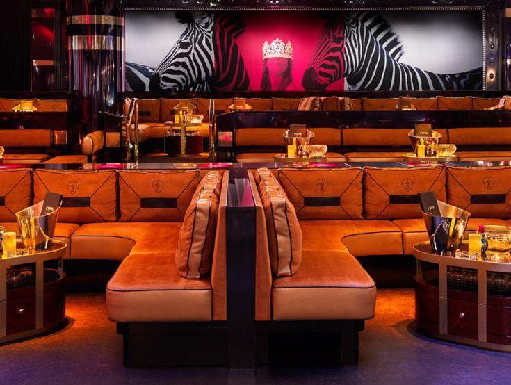 1Oak Las Vegas dance floor table