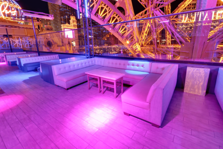 Chateau Nightclub dance floor table