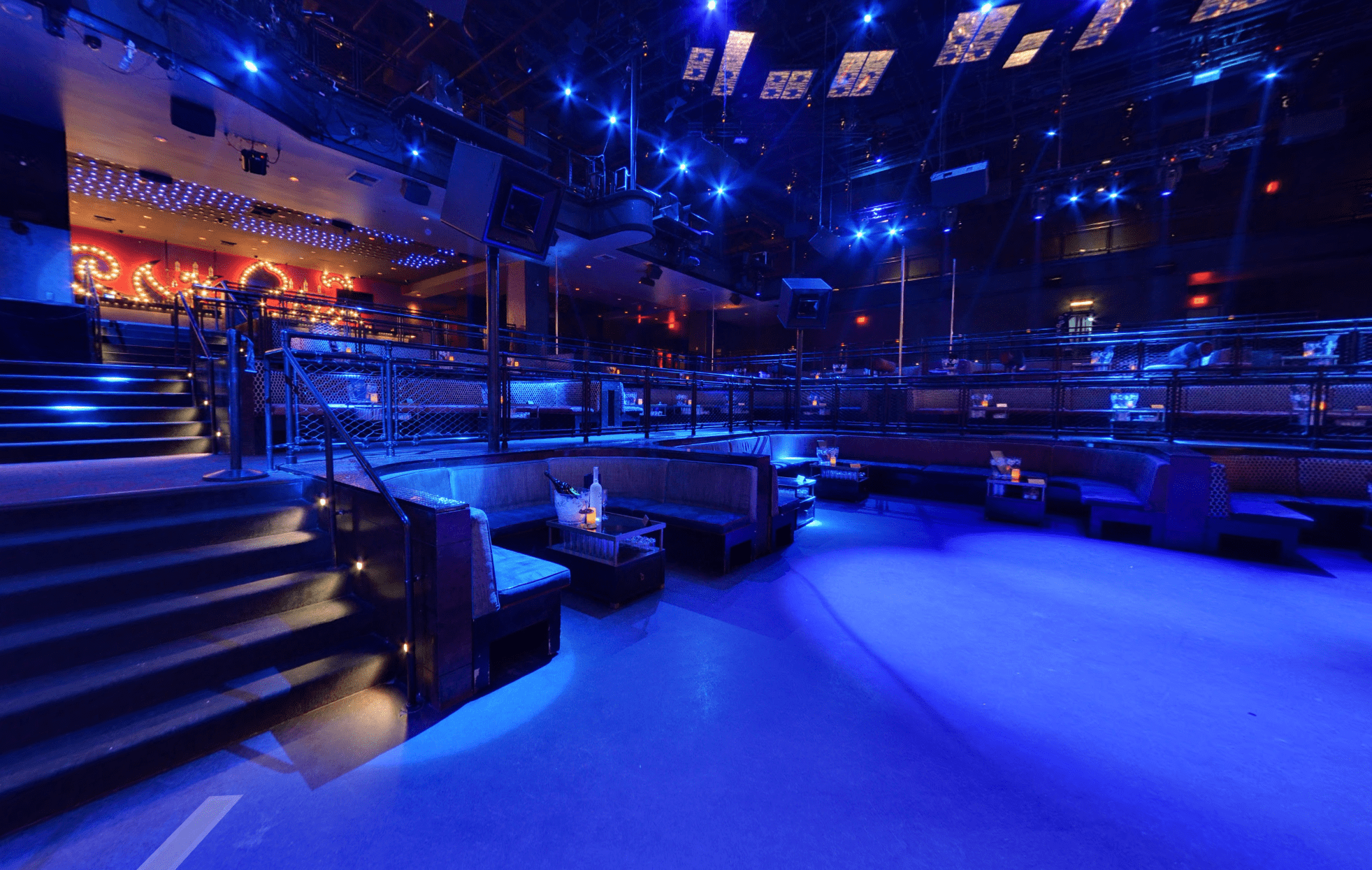 Light Nightclub Dancefloor Table
