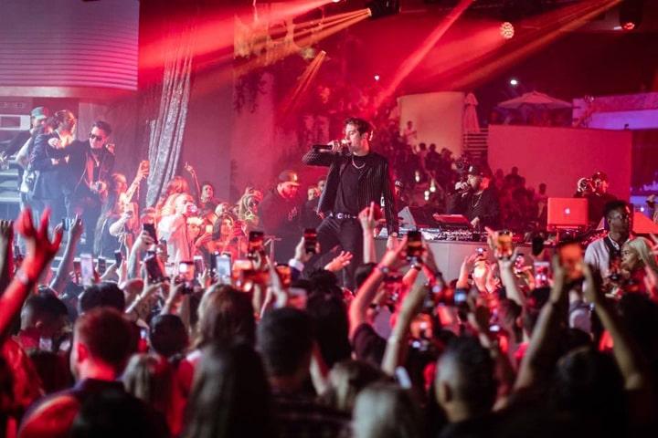 G Eazy at Kaos Nightclub