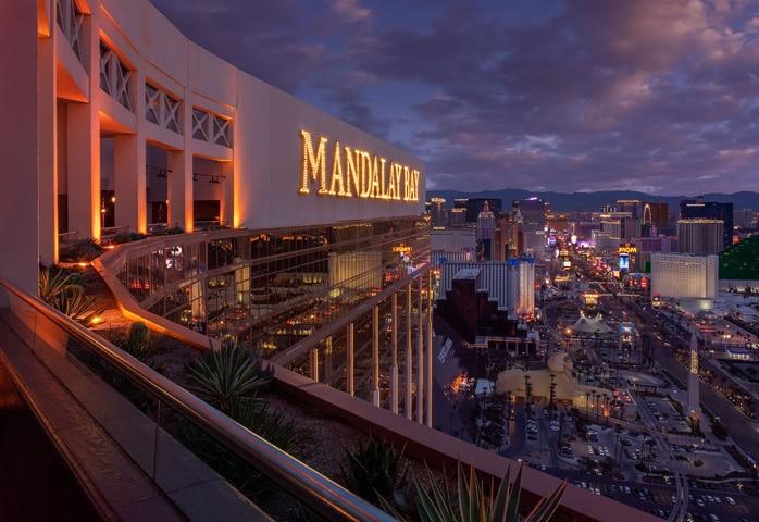 Foundation Room Las Vegas Strip view