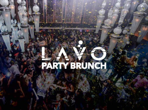 Lavo Party Brunch bottle service