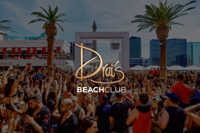 Drais Beach Club bottle service