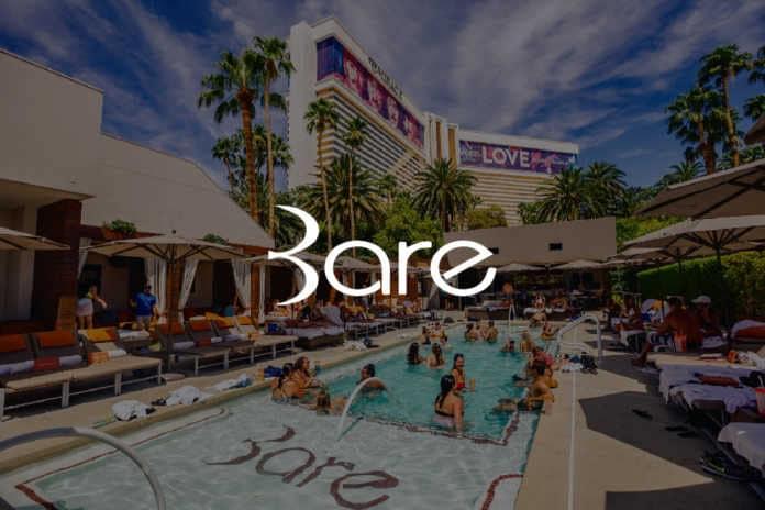 Bare Pool bottle service