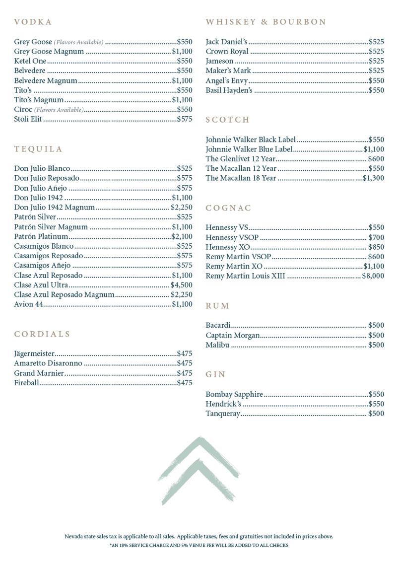Elia Beach Club menu