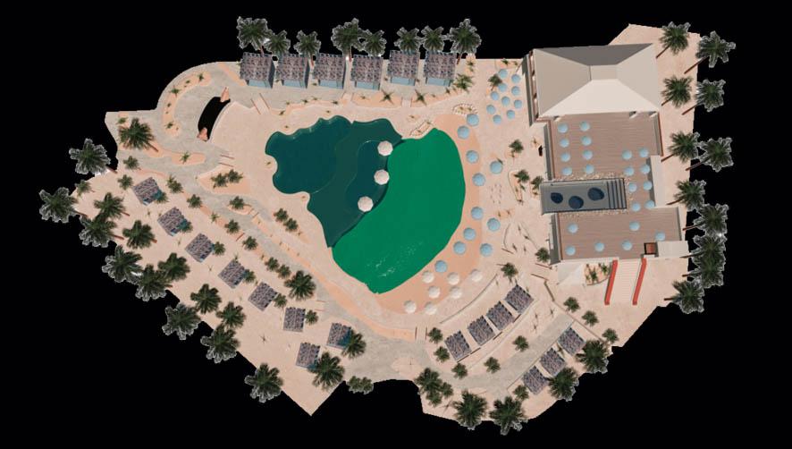 Elia Beach Club map